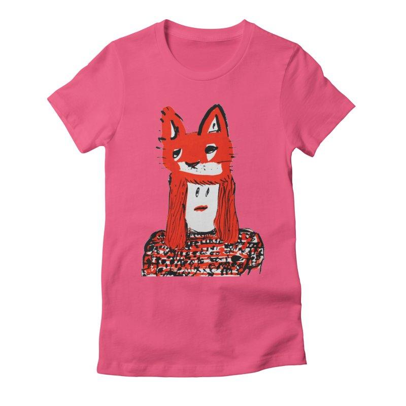 Koudai  Zeniya Women's Fitted T-Shirt by Misterdressup