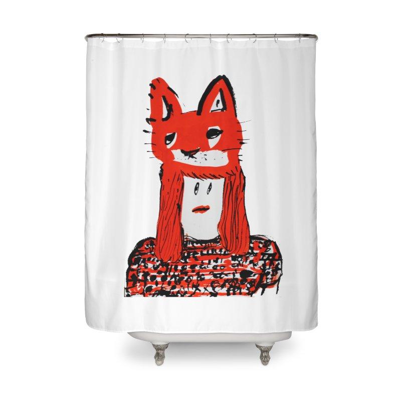 Koudai  Zeniya Home Shower Curtain by Misterdressup