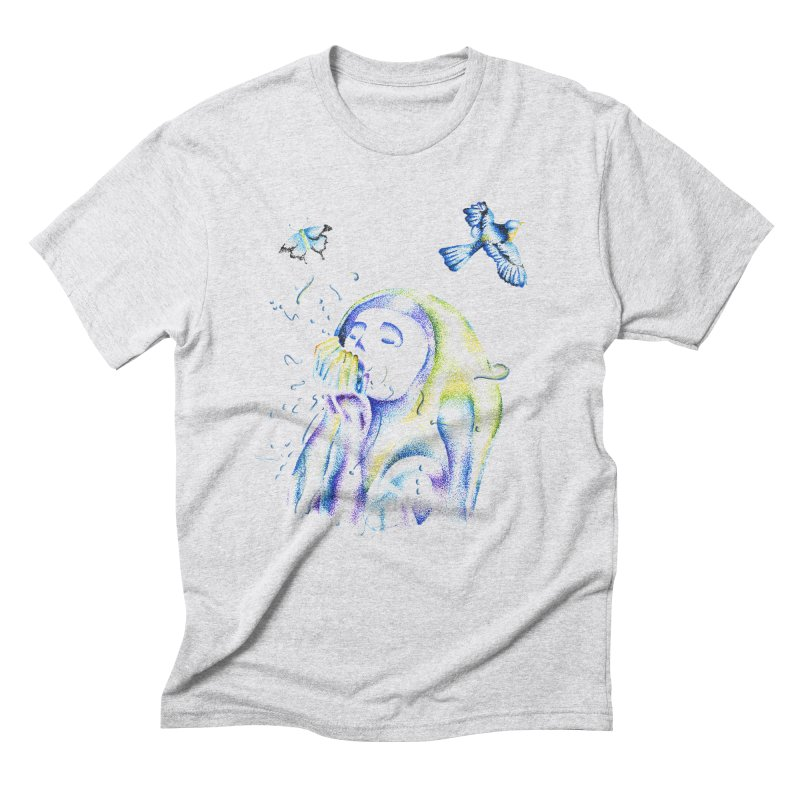 Aura Estrada Men's Triblend T-Shirt by Misterdressup