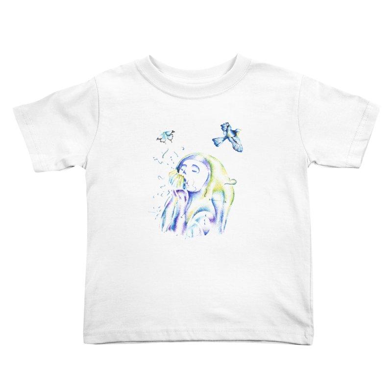 Aura Estrada Kids Toddler T-Shirt by Misterdressup