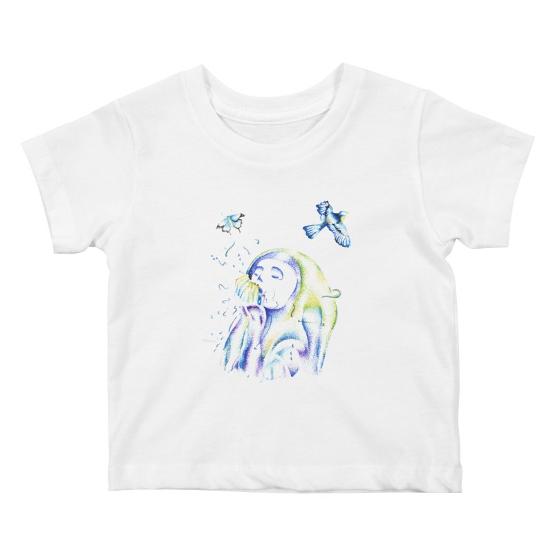 Aura Estrada Kids Baby T-Shirt by Misterdressup