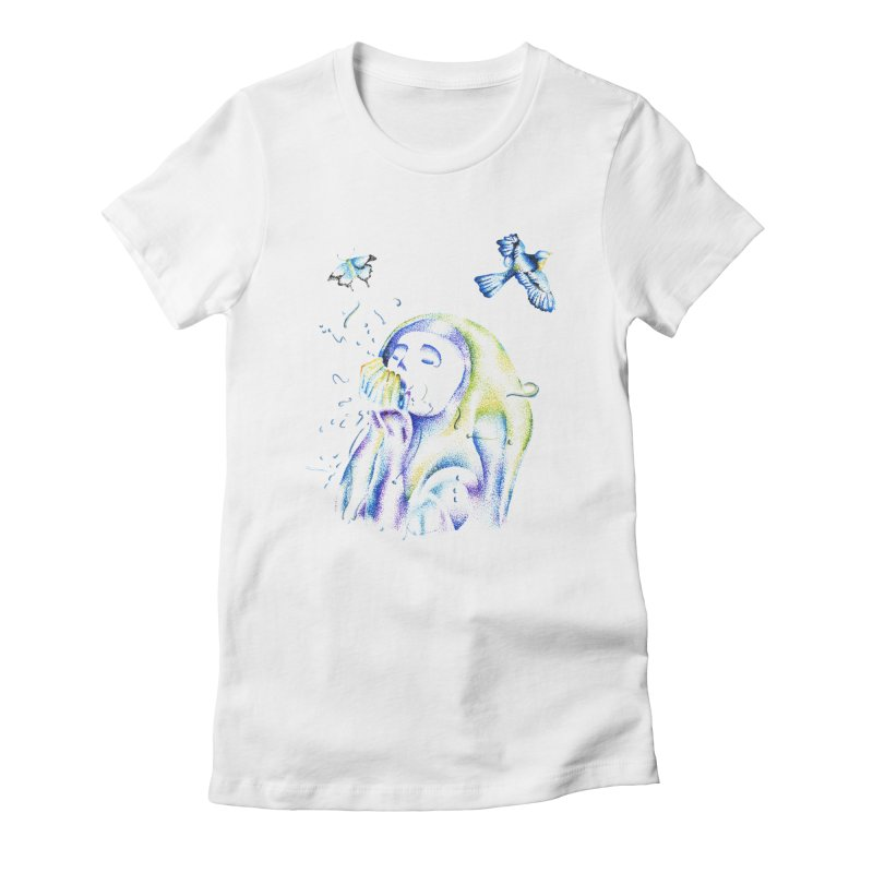 Aura Estrada Women's Fitted T-Shirt by Misterdressup