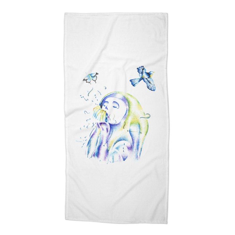 Aura Estrada Accessories Beach Towel by Misterdressup