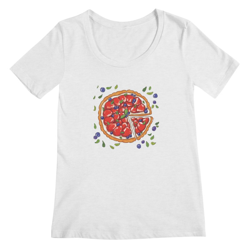Charmin 9 ham Women's Scoopneck by Misterdressup