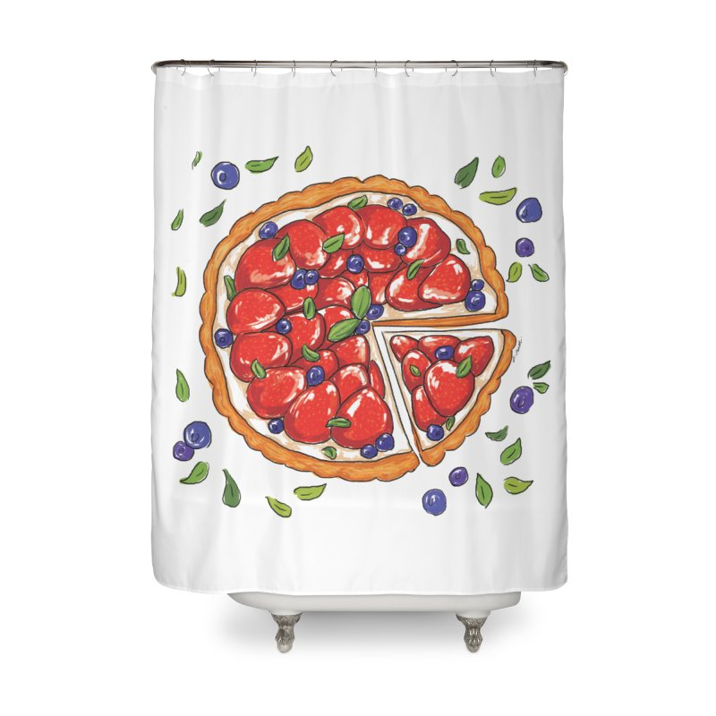 Charmin 9 ham Home Shower Curtain by Misterdressup