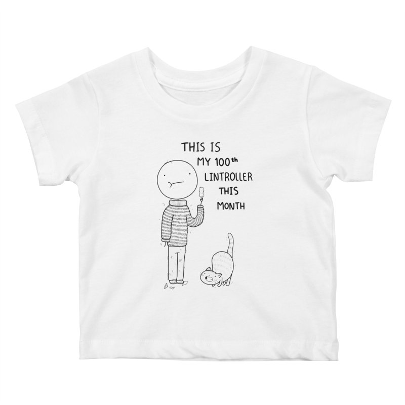 Doodle Job Kids Baby T-Shirt by Misterdressup
