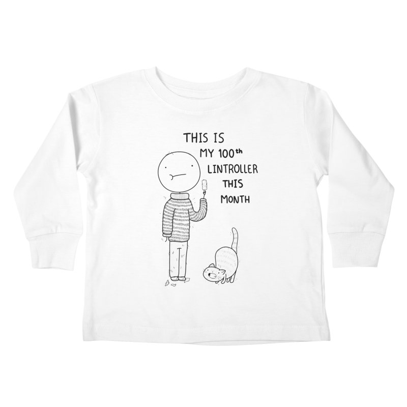 Doodle Job Kids Toddler Longsleeve T-Shirt by Misterdressup