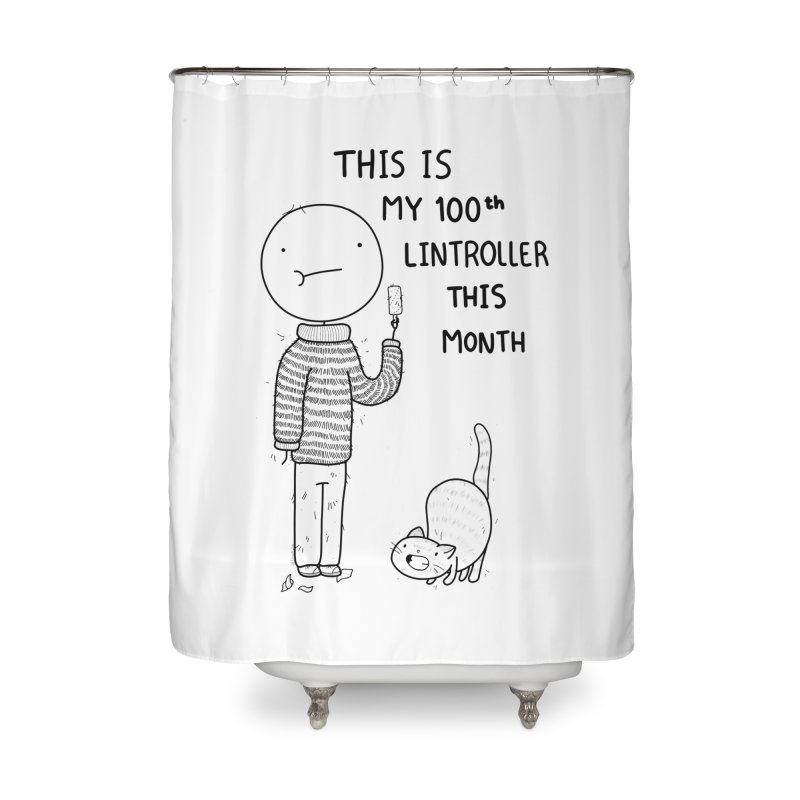 Doodle Job Home Shower Curtain by Misterdressup
