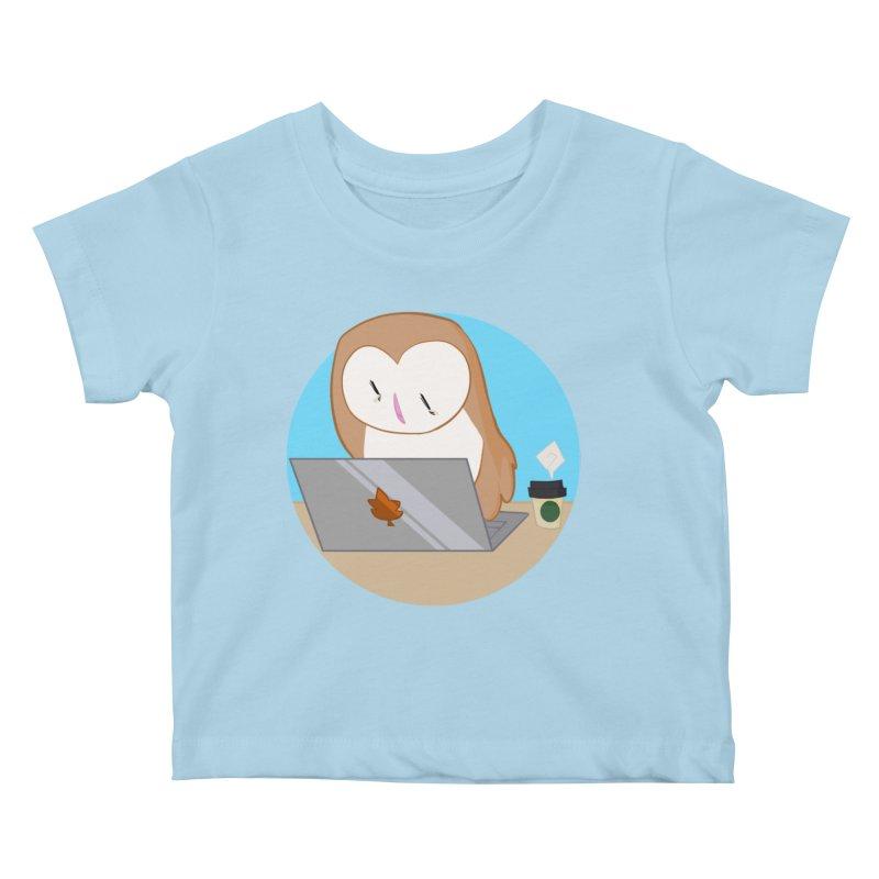 Drew Shapiro Kids Baby T-Shirt by Misterdressup