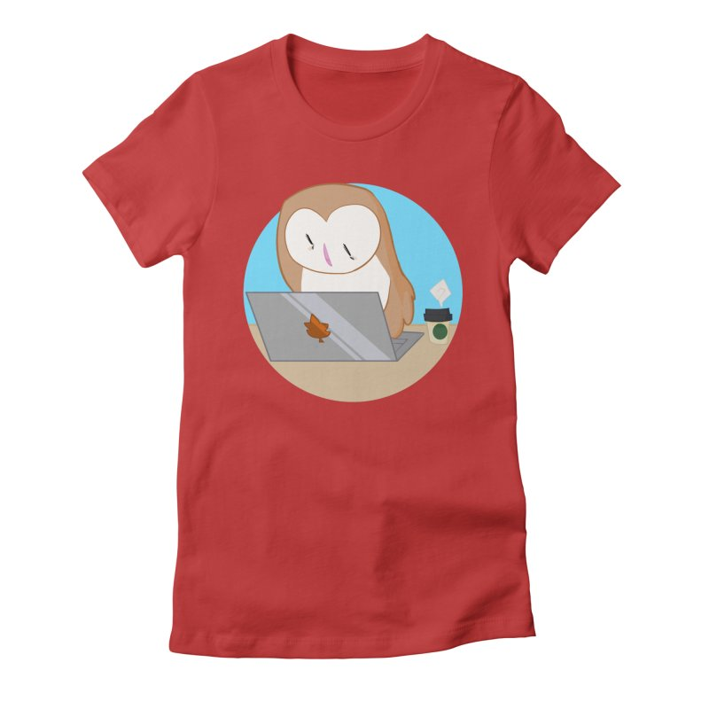 Drew Shapiro Women's Fitted T-Shirt by Misterdressup