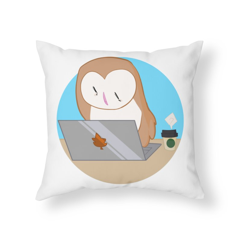 Drew Shapiro Home Throw Pillow by Misterdressup