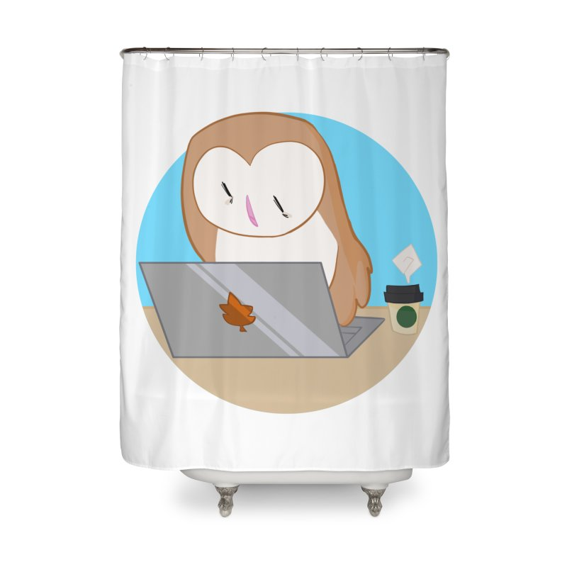 Drew Shapiro Home Shower Curtain by Misterdressup