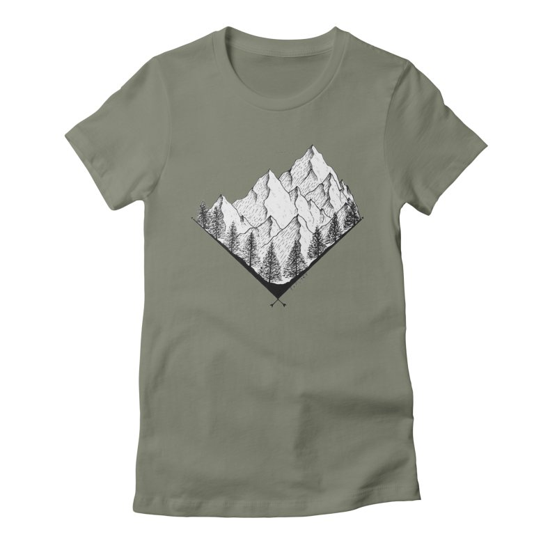 Varnika Marwah Women's Fitted T-Shirt by Misterdressup