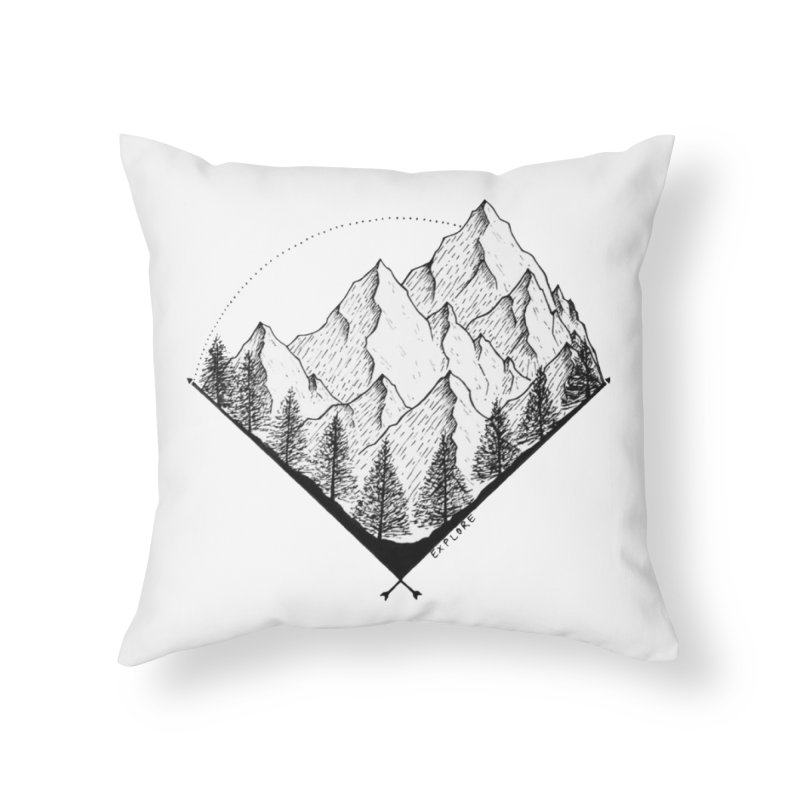 Varnika Marwah Home Throw Pillow by Misterdressup
