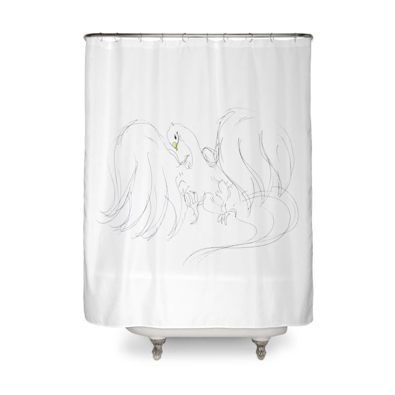 Naoki Doi Home Shower Curtain by Misterdressup