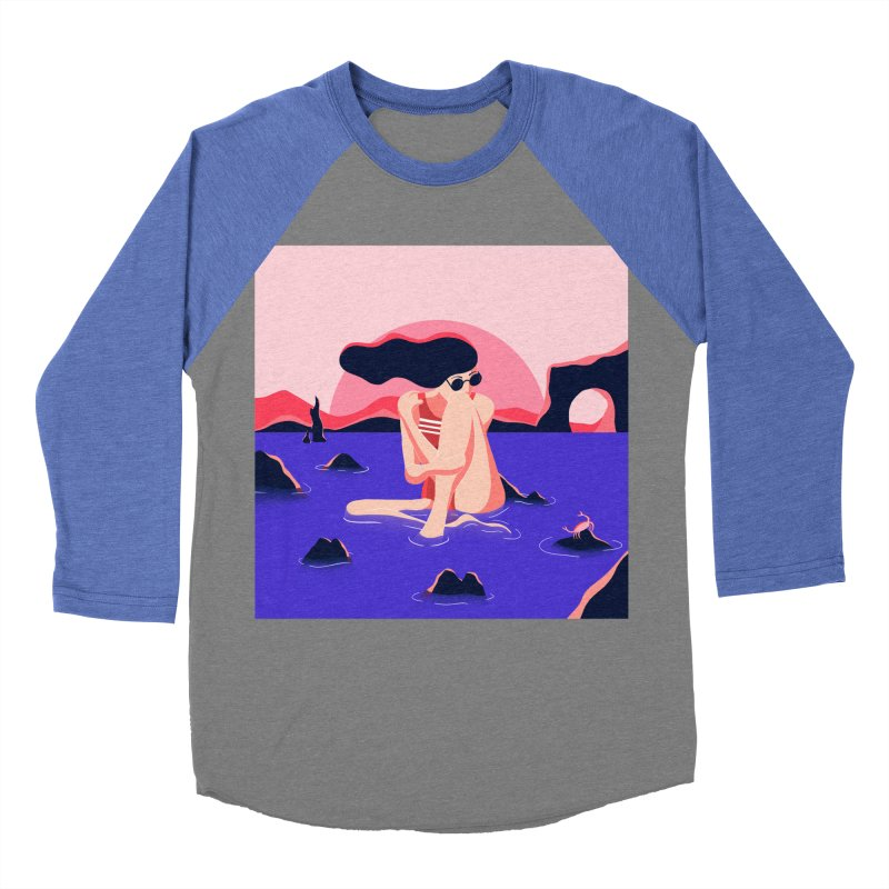 Thibault Pagnard Men's Baseball Triblend T-Shirt by Misterdressup