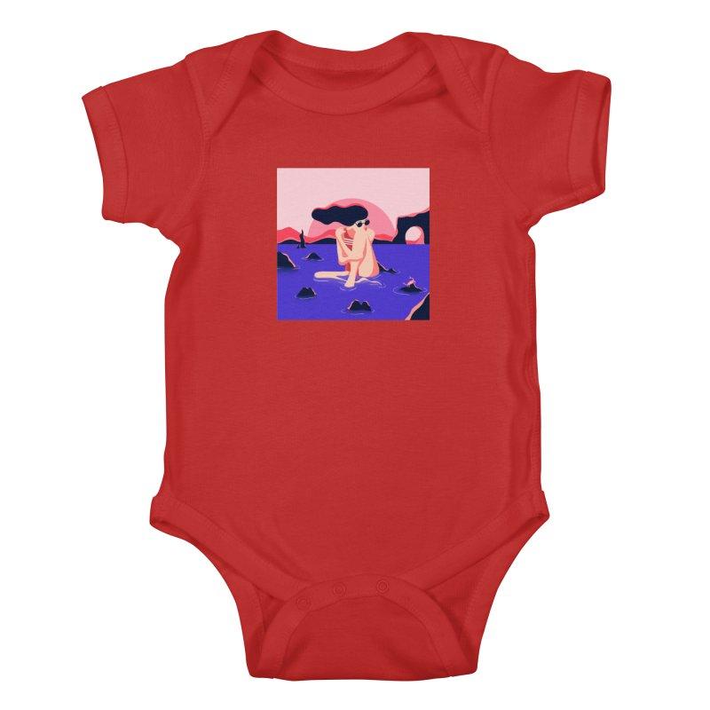 Thibault Pagnard Kids Baby Bodysuit by Misterdressup