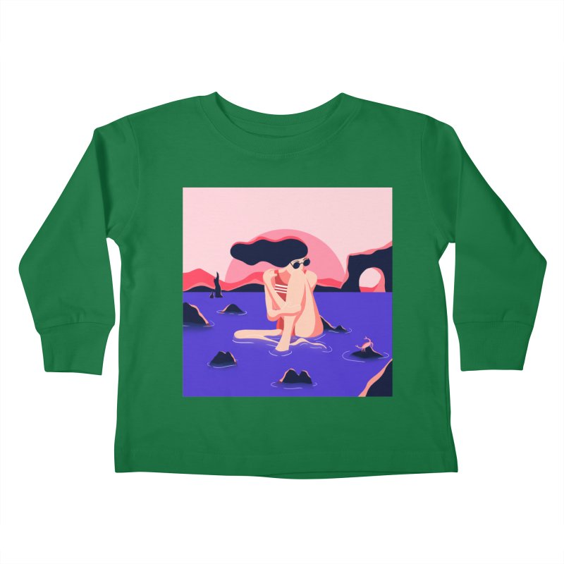 Thibault Pagnard Kids Toddler Longsleeve T-Shirt by Misterdressup