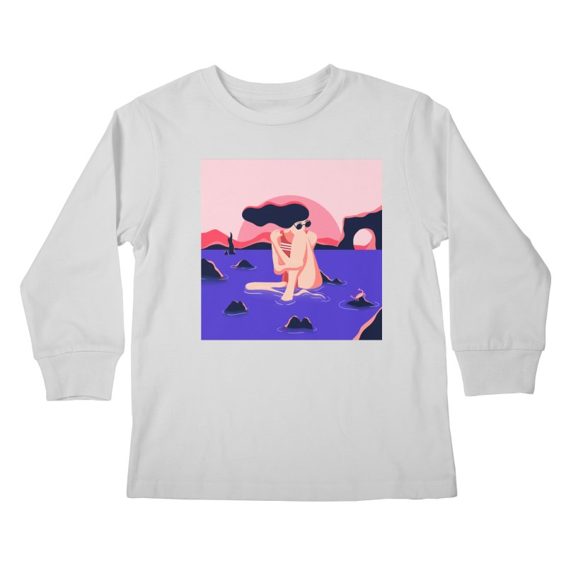 Thibault Pagnard Kids Longsleeve T-Shirt by Misterdressup