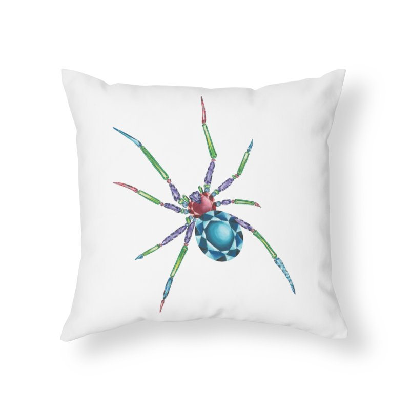 Helena Ward Home Throw Pillow by Misterdressup