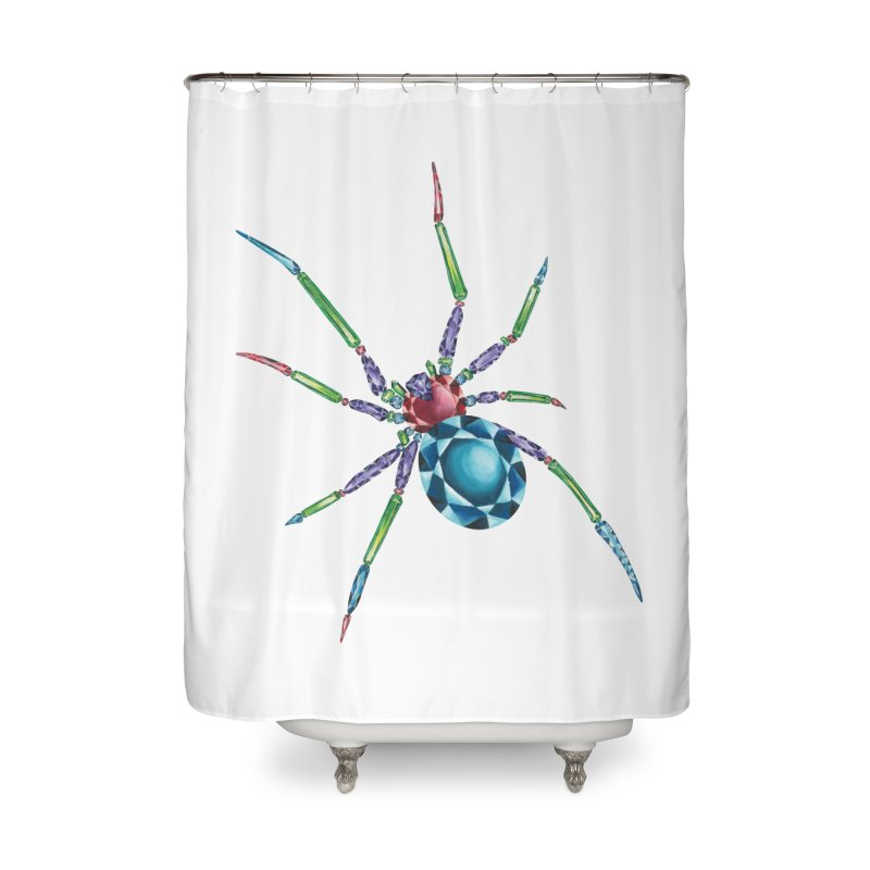 Helena Ward Home Shower Curtain by Misterdressup