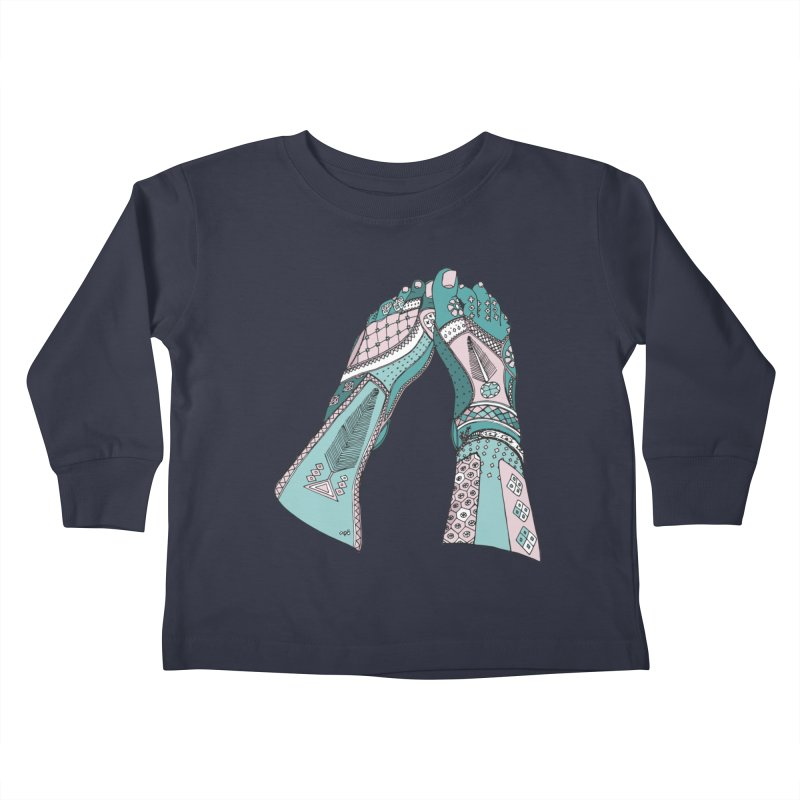 Tahere Kids Toddler Longsleeve T-Shirt by Misterdressup