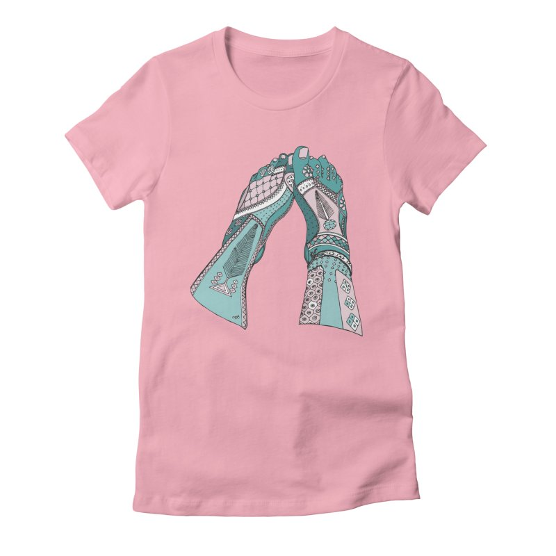 Tahere Women's Fitted T-Shirt by Misterdressup