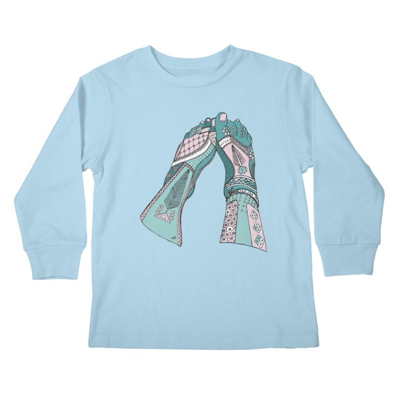 Tahere Kids Longsleeve T-Shirt by Misterdressup