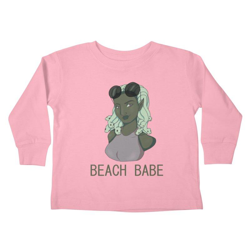 Mackenzie Benton Kids Toddler Longsleeve T-Shirt by Misterdressup