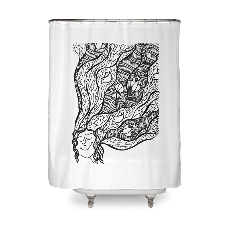 Neetu Mandeep Home Shower Curtain by Misterdressup