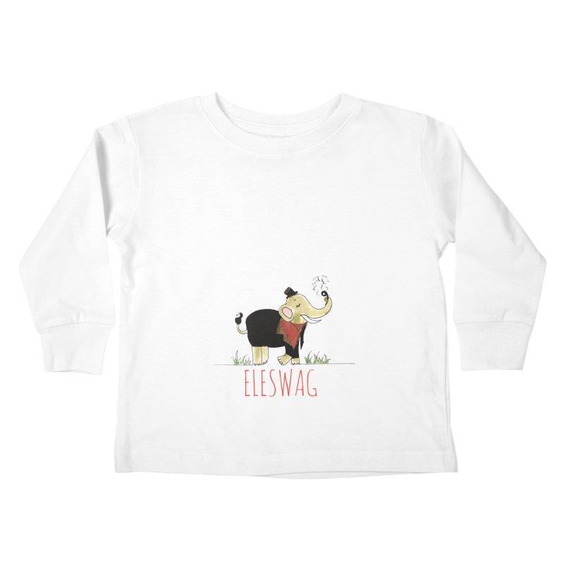 Purnima Viswanathan Kids Toddler Longsleeve T-Shirt by Misterdressup