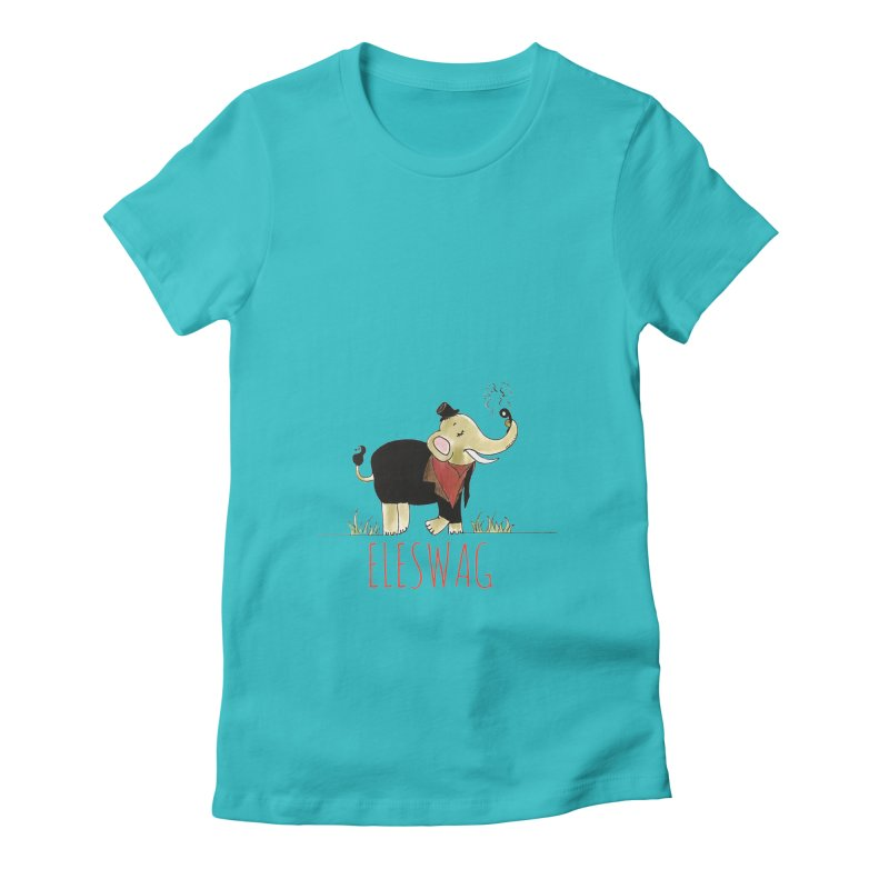 Purnima Viswanathan Women's Fitted T-Shirt by Misterdressup