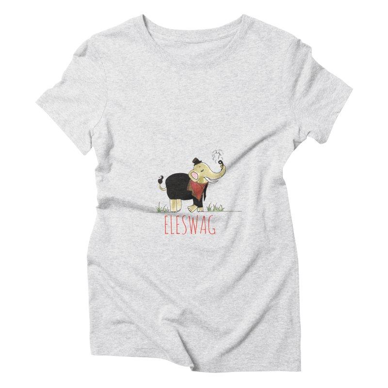 Purnima Viswanathan Women's Triblend T-Shirt by Misterdressup
