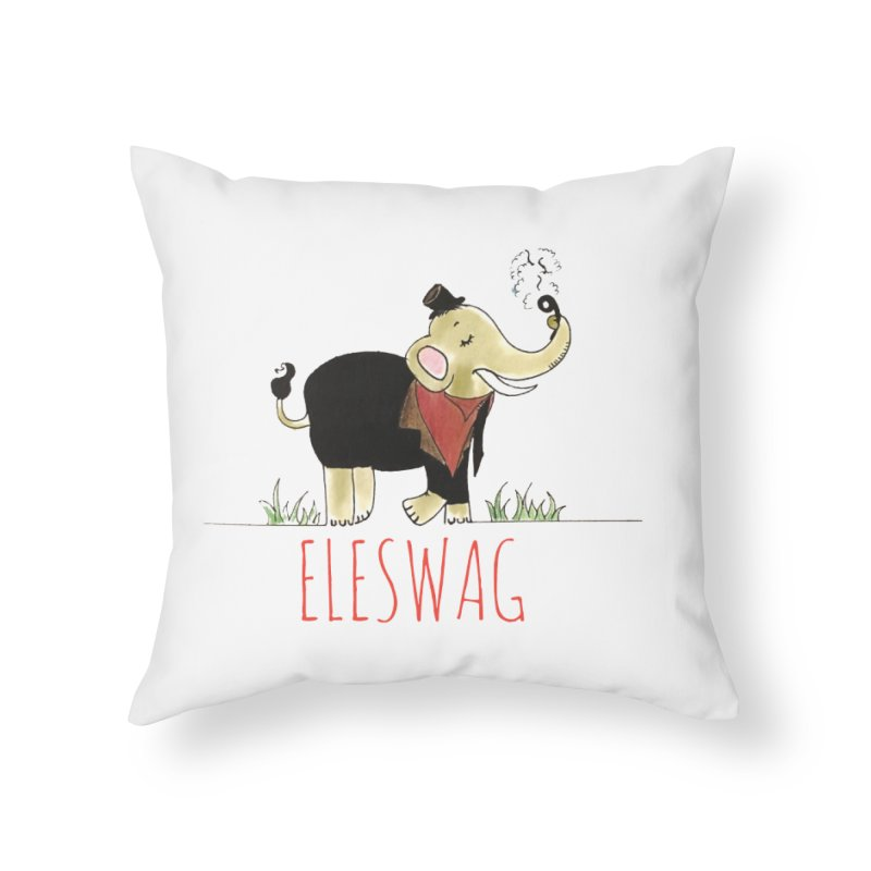 Purnima Viswanathan Home Throw Pillow by Misterdressup
