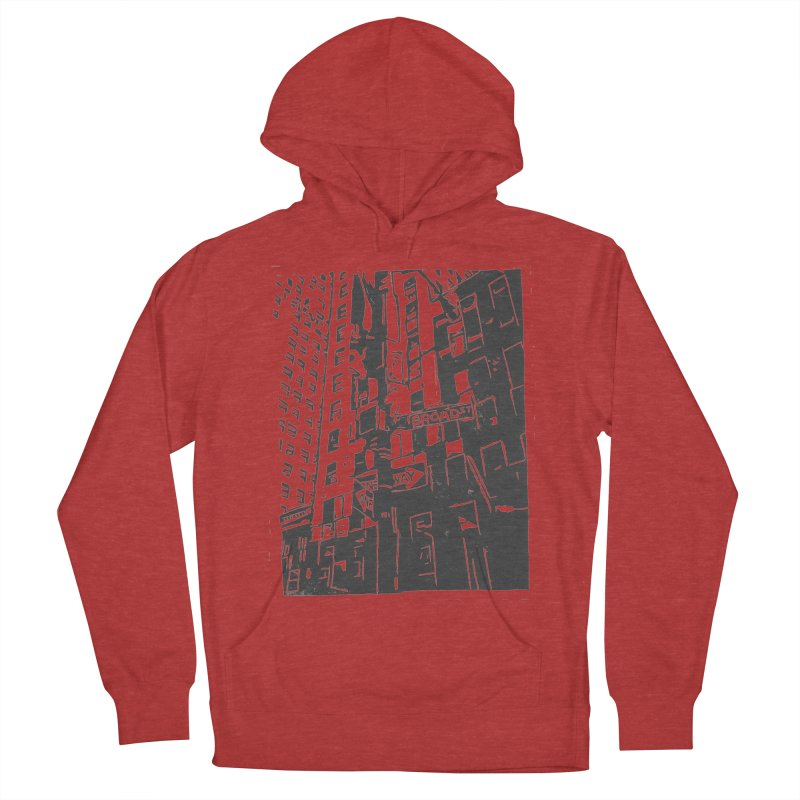 Rebekah Phillips Men's French Terry Pullover Hoody by Misterdressup