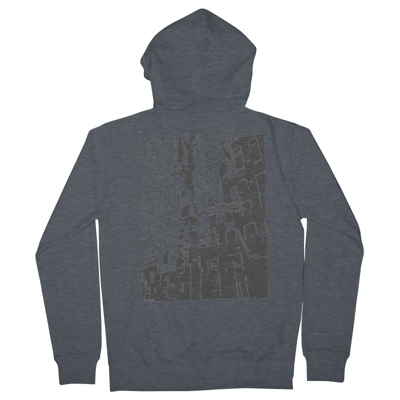 Rebekah Phillips Men's French Terry Zip-Up Hoody by Misterdressup