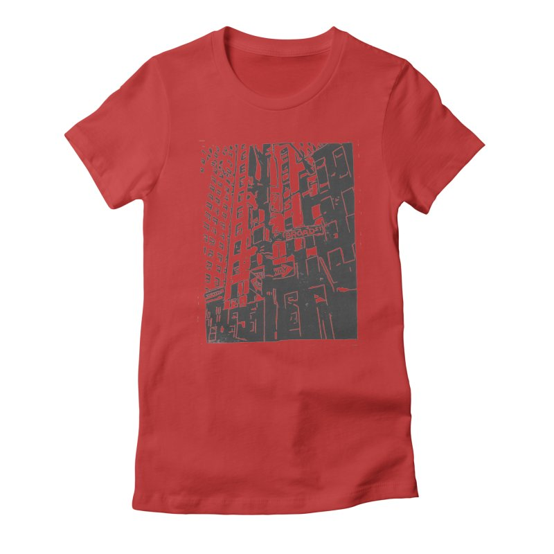 Rebekah Phillips Women's Fitted T-Shirt by Misterdressup