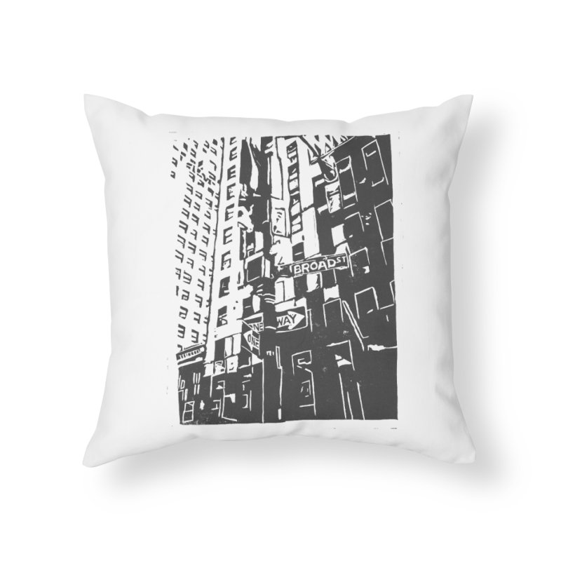 Rebekah Phillips Home Throw Pillow by Misterdressup