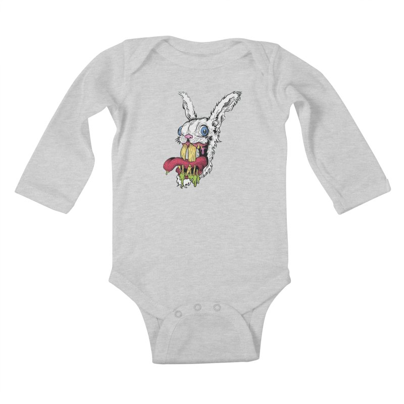 Redx Bleak Kids Baby Longsleeve Bodysuit by Misterdressup
