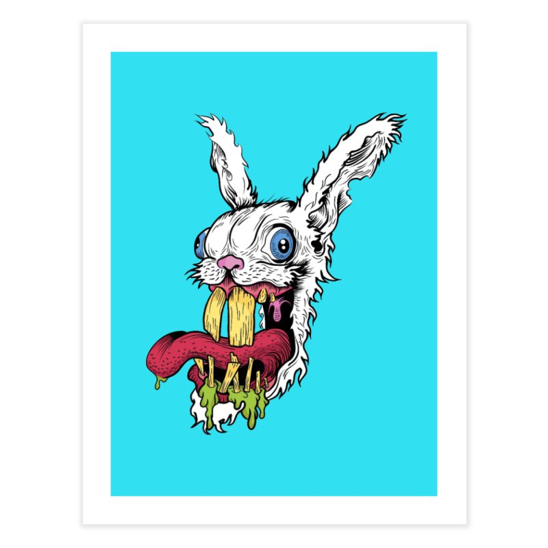 Redx Bleak Home Fine Art Print by Misterdressup