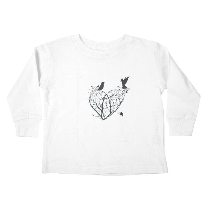 Elena Tamburini Kids Toddler Longsleeve T-Shirt by Misterdressup