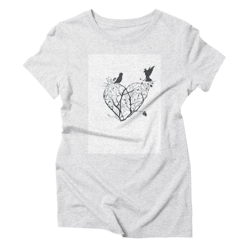 Elena Tamburini Women's Triblend T-Shirt by Misterdressup