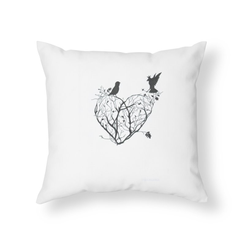 Elena Tamburini Home Throw Pillow by Misterdressup