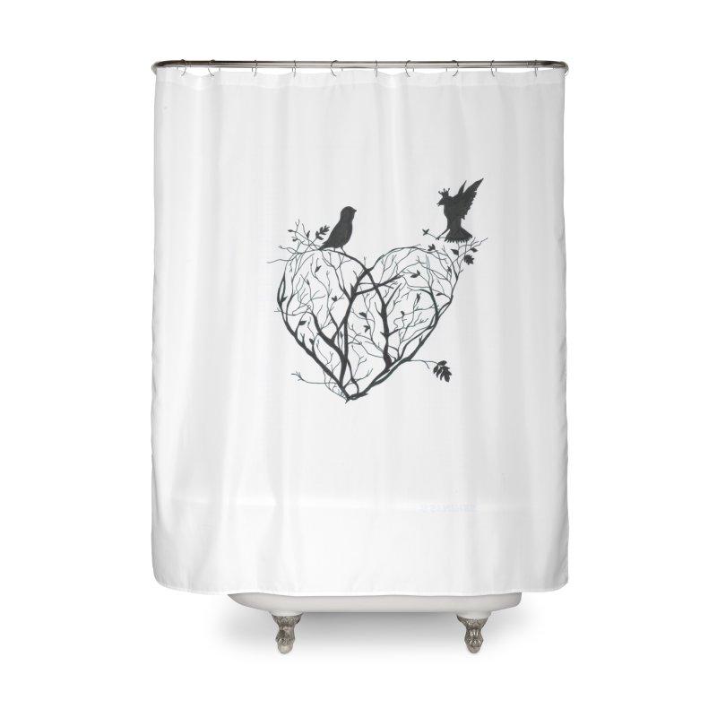 Elena Tamburini Home Shower Curtain by Misterdressup