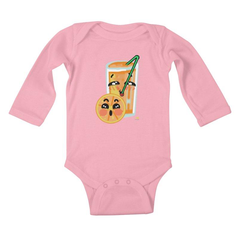 Irene de la Calle Kids Baby Longsleeve Bodysuit by Misterdressup
