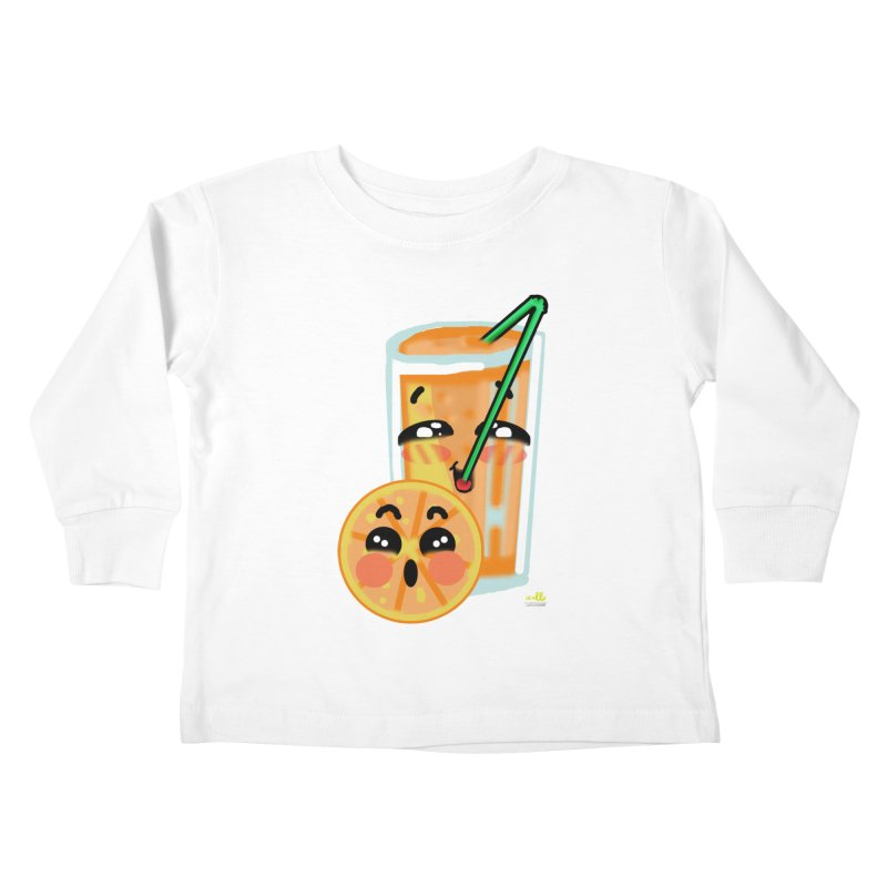 Irene de la Calle Kids Toddler Longsleeve T-Shirt by Misterdressup