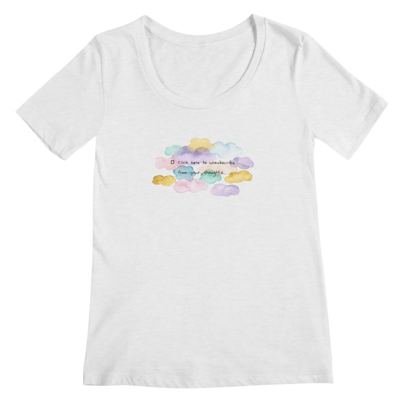 Skybanyes Women's Regular Scoop Neck by Misterdressup