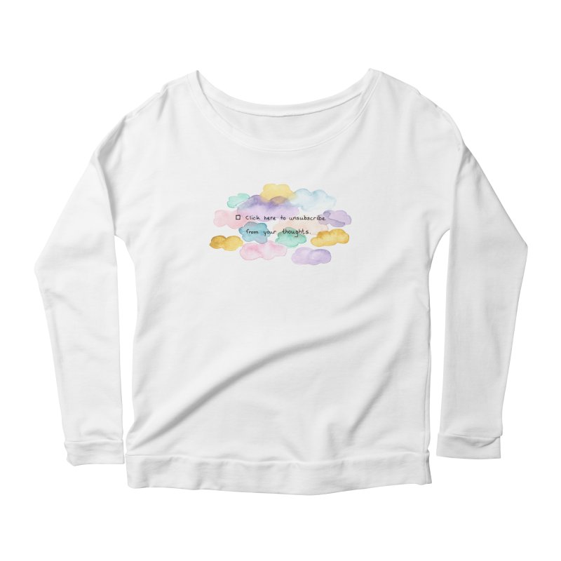 Skybanyes Women's Scoop Neck Longsleeve T-Shirt by Misterdressup