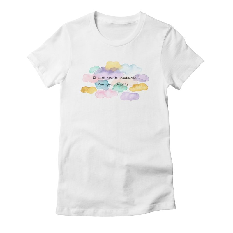 Skybanyes Women's Fitted T-Shirt by Misterdressup