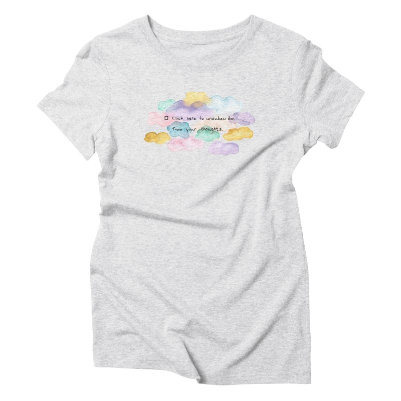 Skybanyes Women's Triblend T-Shirt by Misterdressup